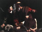 Caravaggio The Sacrifice of Isaac oil painting picture wholesale