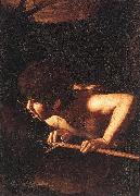 Caravaggio St John the Baptist at the Well ty oil painting picture wholesale