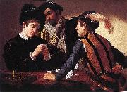 Caravaggio The Cardsharps f oil painting picture wholesale