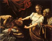 Caravaggio Judith and Holofernes oil painting