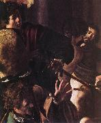 Caravaggio The Martyrdom of St Matthew (detail) fg oil painting picture wholesale