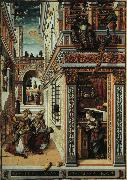 Carlo Crivelli Annunciation with Saint Emidius oil painting