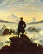Caspar David Friedrich The Crow 1 oil painting