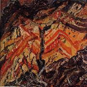 Chaim Soutine View of Ceret oil painting picture wholesale