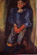Chaim Soutine Boy in Blue oil painting picture wholesale