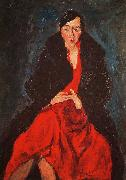 Chaim Soutine Portrait of Madame Castaing oil painting picture wholesale