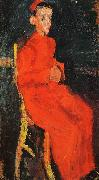 Chaim Soutine Seated Choirboy oil painting picture wholesale