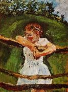 Young Girl at the Fence