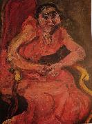 Chaim Soutine Woman in Pink oil painting picture wholesale
