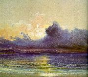 Charles Blechen Sunset at Sea oil painting picture wholesale