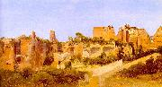 Charles Blechen The Ruins of the Septizonium on the Palatine in Rome oil painting picture wholesale