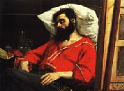 Charles Carolus - Duran The Convalescent ( The Wounded Man ) oil painting picture wholesale