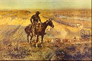 Charles M Russell The Wagon Boss oil painting picture wholesale