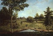 Charles Wilson Peale Landscape Looking Towards Sellers Hall from Mill Bank oil painting picture wholesale