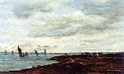 Charles-Francois Daubigny The Banks of Temise at Erith oil painting picture wholesale