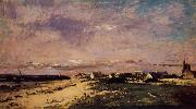 Charles-Francois Daubigny French Coastal Scene oil painting picture wholesale