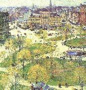Childe Hassam Union Square in Spring oil painting