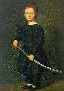 Christian Albrecht Jensen Portrait of a Boy : One of the Artist's Sons oil painting picture wholesale