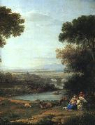 Claude Lorrain The Rest on the Flight into Egypt oil painting reproduction