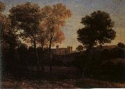 Claude Lorrain View of La Crescenza oil painting artist