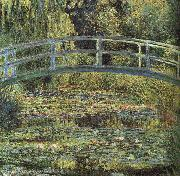 Claude Monet Waterlilies and Japanese Bridge oil painting picture wholesale
