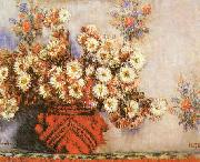 Claude Monet Chrysanthemums ss oil painting picture wholesale