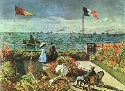 Claude Monet Terrace at St Adresse oil painting picture wholesale