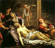 Correggio Deposition oil painting reproduction