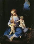 Correggio Madonna and Child with the Young Saint John oil painting reproduction