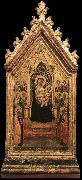 DADDI, Bernardo Madonna and Child Enthroned with Angels and Saints dfg oil painting
