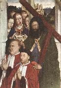 DALMAU, Lluis Altarpiece of the Councillors (detail) fg oil painting