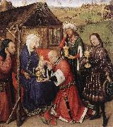 DARET, Jacques Altarpiece of the Virgin dfdsg oil painting picture wholesale