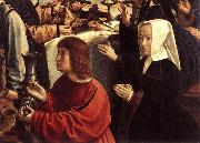 DAVID, Gerard The Marriage at Cana (detail) dfgw oil painting picture wholesale