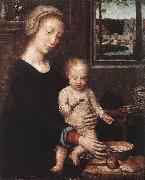 Madonna and Child with the Milk Soup dgw