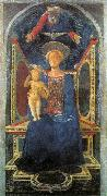DOMENICO VENEZIANO Madonna and Child sd oil painting