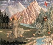 The Stigmatization of St Francis (predella 1) df