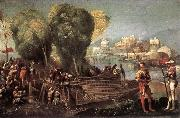 DOSSI, Dosso Aeneas and Achates on the Libyan Coast df oil painting