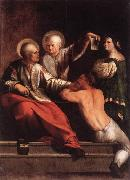 DOSSI, Dosso St Cosmas and St Damian dfg oil painting