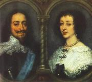 Charles I of England and Henrietta of France dfg