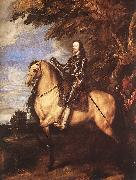 DYCK, Sir Anthony Van Charles I on Horseback fg oil painting