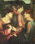 Dante Gabriel Rossetti The Bower Meadow oil painting picture wholesale