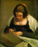 Diego Velazquez The Needlewoman oil painting