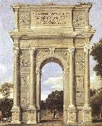 Domenichino A Triumphal Arch of Allegories dfa oil painting reproduction