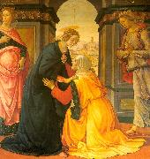 Domenico Ghirlandaio Visitation 8 oil painting