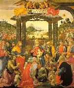 Domenico Ghirlandaio Adoration of the Magi   qq oil painting