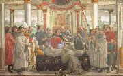 Domenico Ghirlandaio Obsequies of St.Francis oil painting picture wholesale