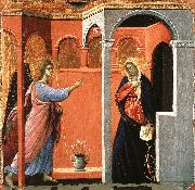 Duccio di Buoninsegna Annunciation oil painting reproduction