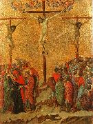 Duccio di Buoninsegna Crucifixion oil painting reproduction