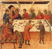 Duccio di Buoninsegna Wedding at Cana oil painting picture wholesale
