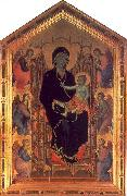 Duccio The Rucellai Madonna oil painting